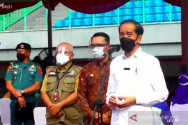 Presiden Jokowi : PPKM Mikro masih kebijakan paling tepat saat ini