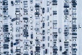 Begini cara kendaraan metik parkir paralel agar tidak mengganggu
