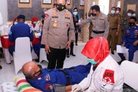 Personel Polda Sumsel dikerahkan cegah kekurangan  stok darah