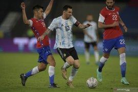 Argentina ditahan imbang Chile 1-1