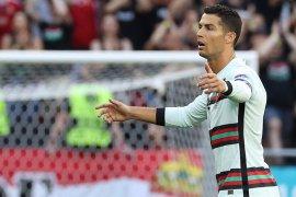 Tampil lima kali, Ronaldo ukir sejarah Piala Eropa