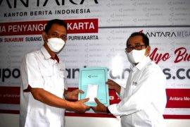 Pisah-sambut Kepala LKBN ANTARA Biro Utama BPJ-Bogor