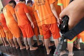 Rilis Kasus Narkoba Di Bogor