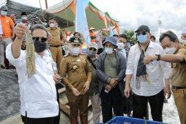 Menteri KKP kunjungi kawasan tambak bumi Dipasena