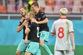 UEFA investigasi rayakan gol Arnautovic saat lawan Makedonia Utara