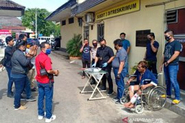13 orang preman ditangkap di kawasan Pelabuhan Boom Baru dan Pasar Induk Jakabaring