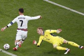 Ronaldo  sebagai pencetak gol terbanyak  Euro