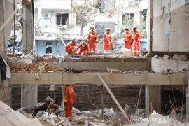 Delapan orang diamankan pascaledakan pipa gas China yang menewaskan 25 warga