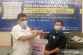 Pusri Palembang dapatkan amanah distribusikan pupuk bersubsidi di NTB