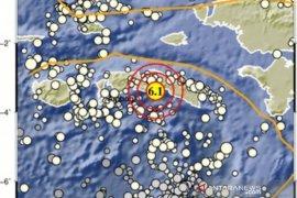 BMKG sebut muka air laut naik 0,5 meter akibat gempa di Pulau Seram