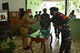 TNI di Polman Sulbar rintis pembangunan 1.977 meter jalan