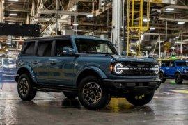 Ford mulai kirim SUV legendaris 2021 Bronco ke pemesan