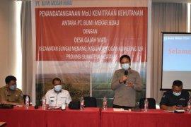 PT Bumi Mekar Hijau ajak warga manfaatkan lahan tak produktif 1.508 Ha