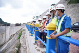 Presiden Joko Widodo dijadwalkan resmikan Bendungan Paselloreng Wajo