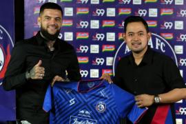 Diego Michiels siap membawa Arema FC juarai Liga 1