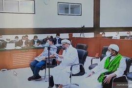 Rizieq Shihab jalani sidang putusan kasus RS UMMI Bogor
