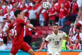 Perjuangan Belgia kalahkan Denmark 2-1