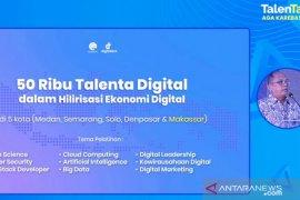 Kominfo targetkan latih 50 ribu talenta digital di lima kota