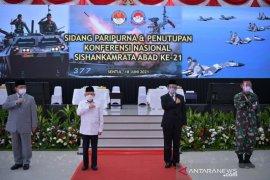 Wapres setuju alat utama sistem senjata TNI harus modern