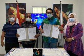Kerjasama pengelolaan dana komersial Perparnas XVI Papua-LPDK resmi diteken