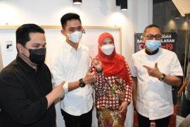 Erick Thohir beri motivasi milenial Lampung jadi start up