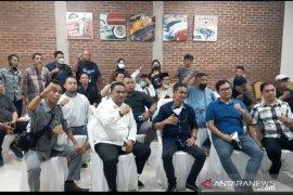 76 OKPI Manado Deklarasi Dukung Natanael Pepah Ketua KNPI