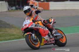Marquez ungkap kemenangannya di MotoGP Jerman