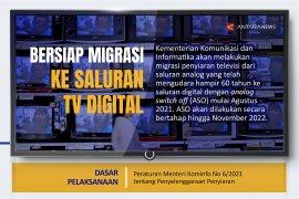 Bersiap migrasi ke saluran tv digital