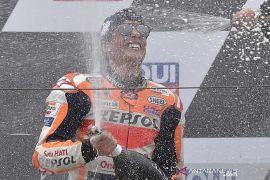 Marc Marquez pada dasarnya \'menang dengan satu lengan\' di Sachsenring