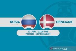 Euro 2020: Rusia siap redam Denmark