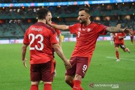 Euro 2020: Swiss hanya finis di peringkat tiga Grup A meski kalahkan Turki 3-1