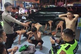 Polres OKU jaring belasan remaja dalam razia balap liar