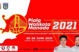 Kompetisi basket piala wali kota Manado Resmi dimulai
