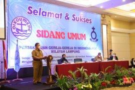 Gubernur Lampung minta tokoh agama terus ingatkan umat taati prokes