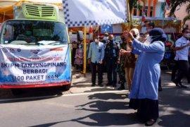 3,3 ton ikan didistribusikan BKIPM untuk warga Tanjungpinang