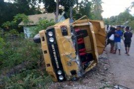 Polisi amankan pengemudi truk dalam lakalantas yang menewaskan tiga orang
