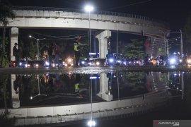 Delapan Titik Persimpangan Di Palembang Ditutup