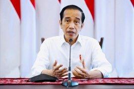 """Presiden Jokowi menerima masukan \""""lockdown\"""" tapi PPKM mikro paling tepat"""