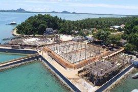 Pos Lintas Batas Negara Serasan di Natuna akan sangat strategis bagi ekonomi maritim