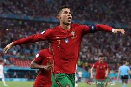 Portugal lolos sebagai peringkat ketiga terbaik setelah imbangi Prancis