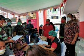 DLH Manado-Puskesmas Kombos gelar  vaksinasi di TKB