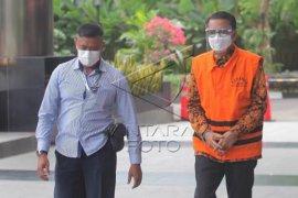 Pemeriksaan tersangka Nurdin Abdullah