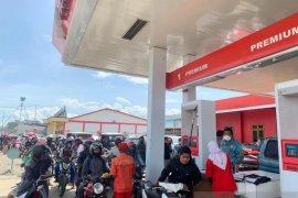Bupati Jayawijaya sidak APMS akibat antrian kendaraan