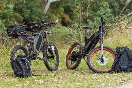 Stealth fokus garap sepeda listrik offroad dan militer