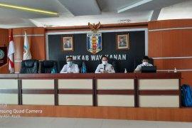 Sekretaris Daerah Waykanan pimpin rapat rakor penyederhanaan birokrasi
