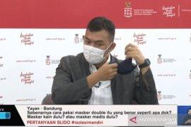 Tips memilih dan menggunakan masker dengan benar cegah COVID-19