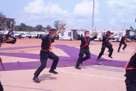 Tarian Soya-Soya Malut tampil di Bangui  Afrika Tengah