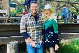 Musisi Blake Shelton nikahi Gwen Stefani dengan perayaan intim