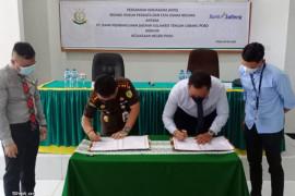 Bank Sulteng tandatangani MoU dengan Kejari Poso