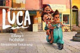 "Film animasi Disney and Pixar's ""Luca"" ajak pecinta Vespa nikmati musim panas"